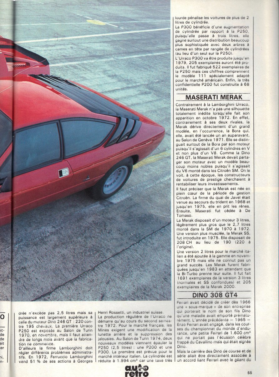 Copyright AutoMotoRetro 1988, all rights reserved