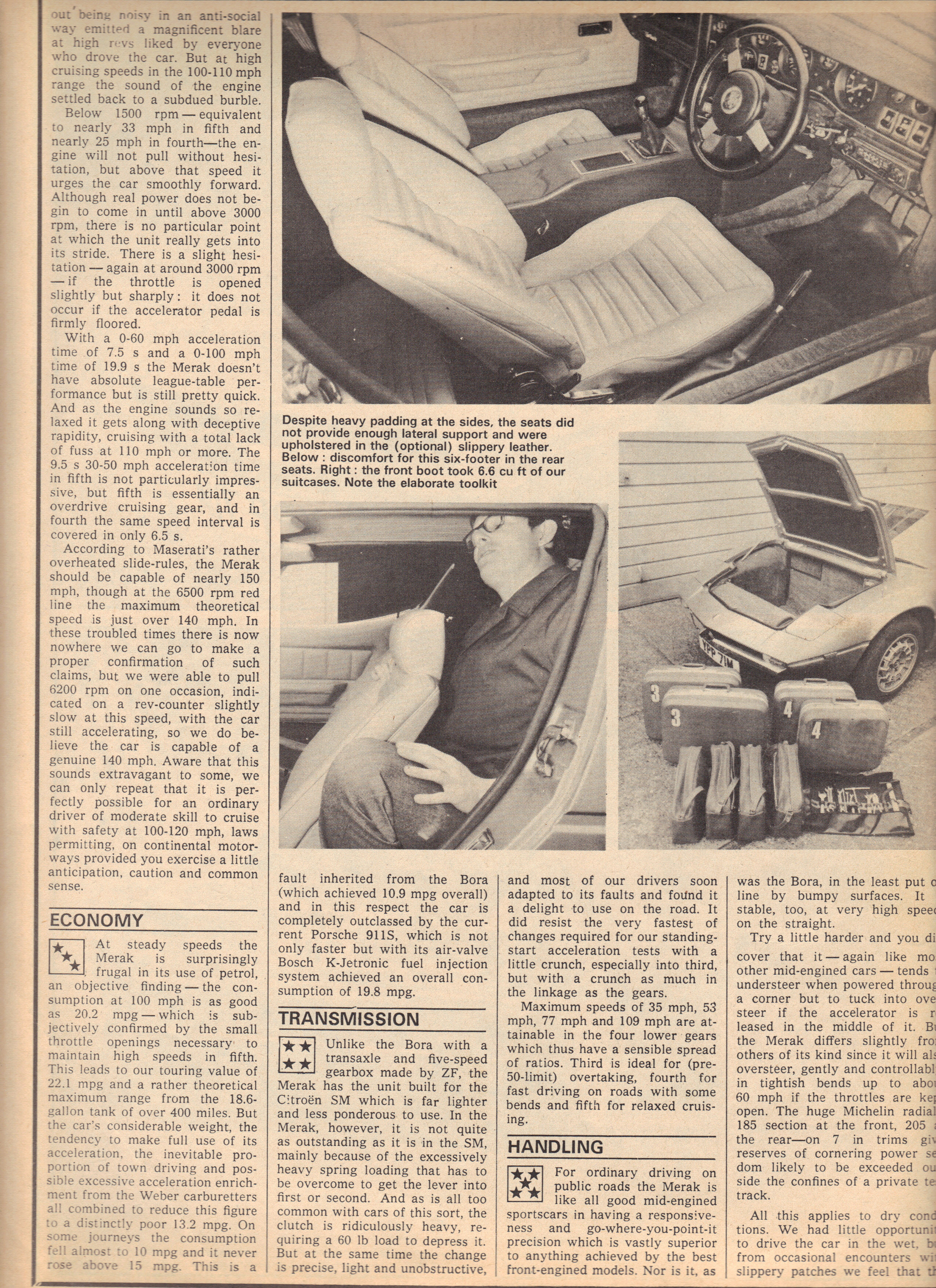 Copyright Motor Magazine 1974, All rights reserved
