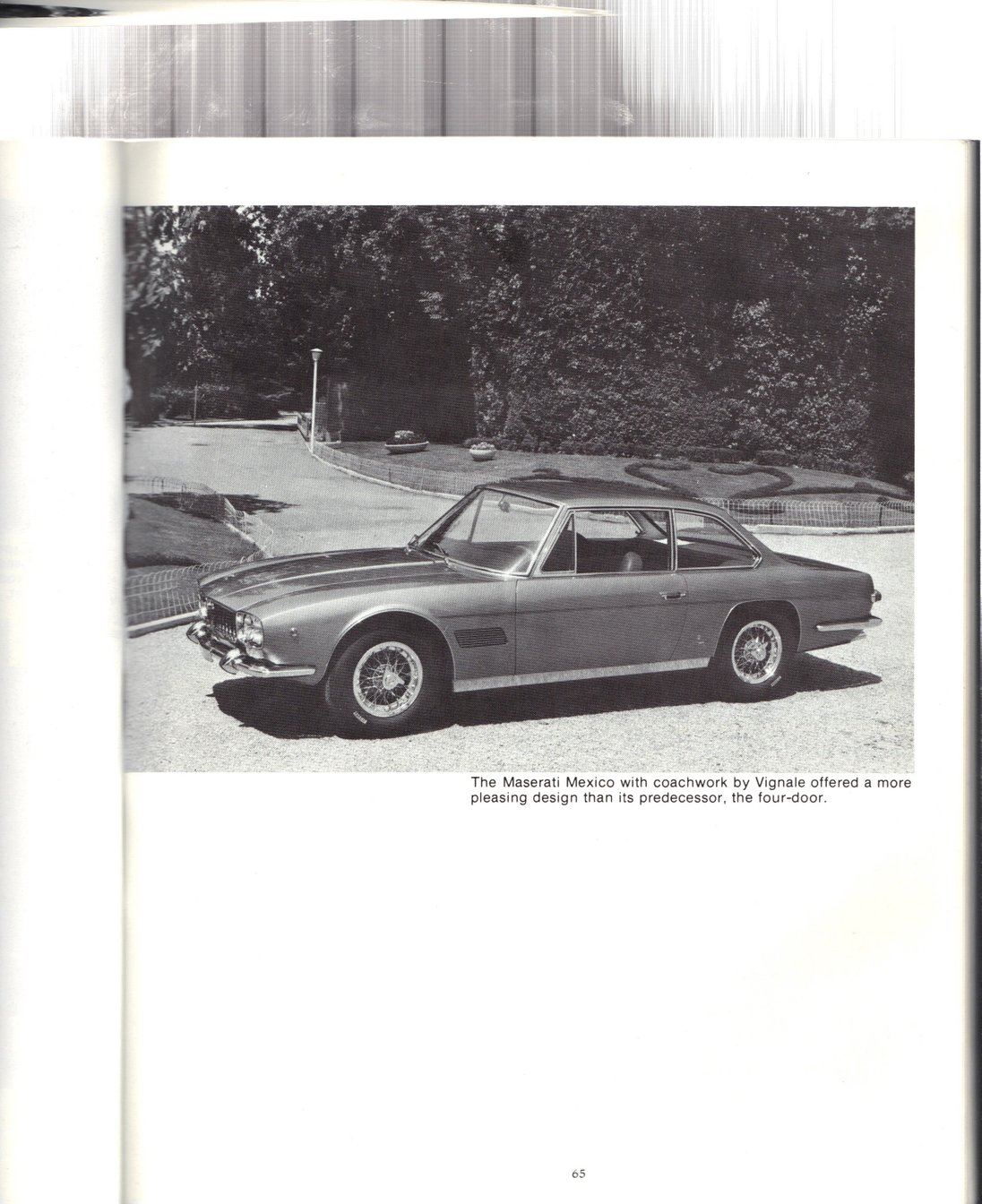Copyright Illustrated Maserati Buyers Guide 1984. All rights reserved